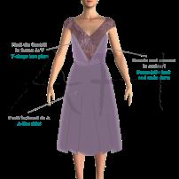 Knit dress - Rochie din tricotaj